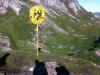 Deutsch-Österreichsiche Grenze am Mädelejoch