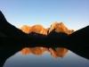Seeblick bei Sonnenaufgang