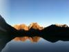 Panorama bei Sonnenaufgang