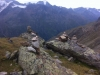 Steinmännchen auf dem Venter Höhenweg