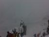Abstieg ins Schnalstal im Schneesturm