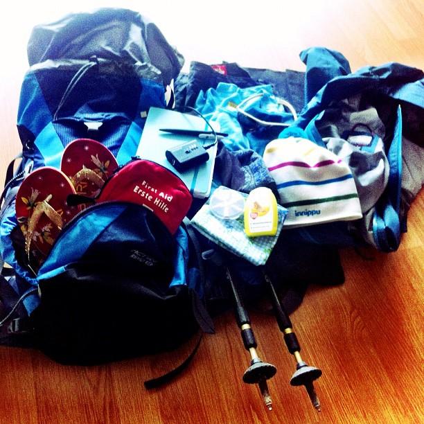 Packliste E5